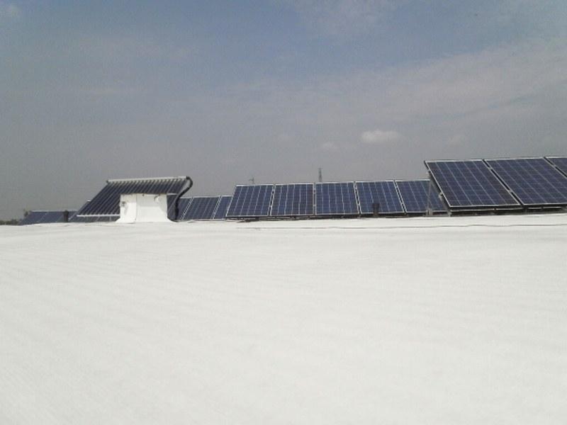 Cooperativa La Rosa a Rosà (VI) copertura di 9 palazzine e fotovoltaico