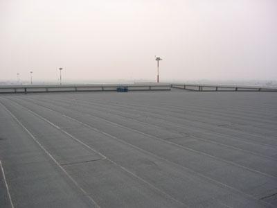 Aeroporto Catullo a Verona, copertura hangar