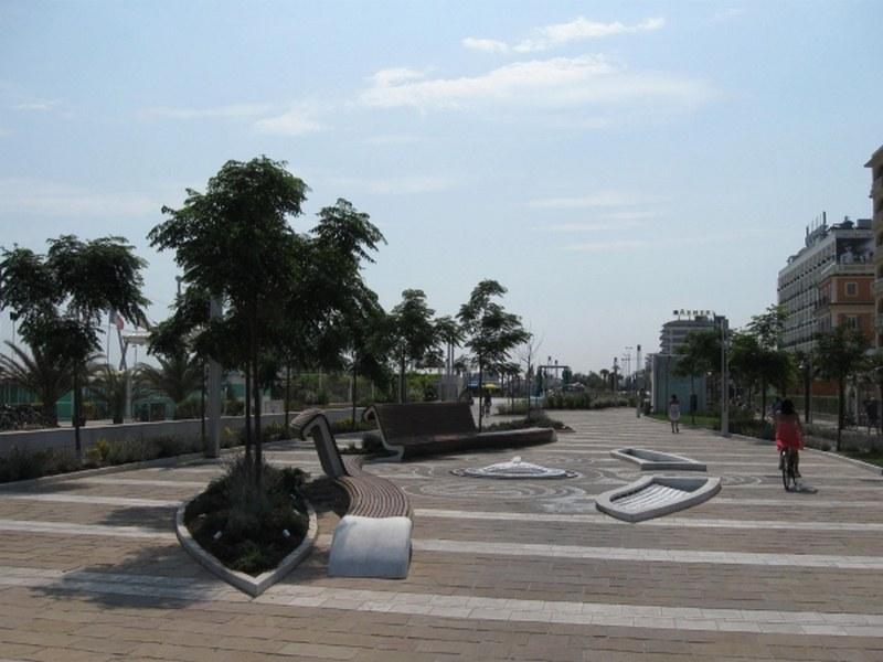 Parcheggio Lungo Mare a Riccione, impermeabilizzazione di tutto l'involucro