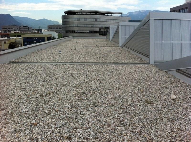 Atzwanger, impermeabilizzazione della nuova sede a Bolzano