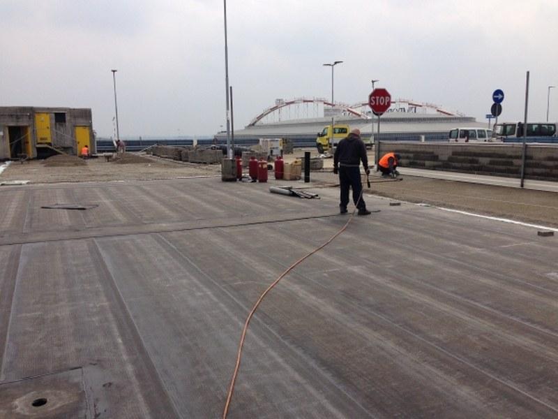 SEA aeroporto di Linate, copertura parcheggio pluripiano per i dipendenti