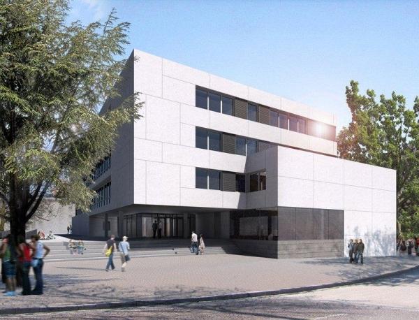 Liceo Carducci a Bolzano - impermeabilizzazione della copertura e del solaio con doppia guaina bituminosa